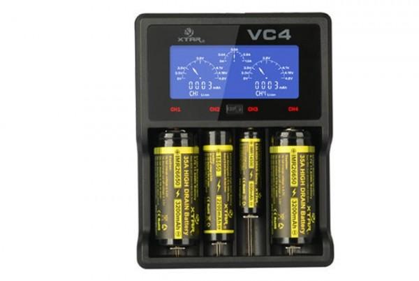 VC4 4-Schacht USB-Ladegerät