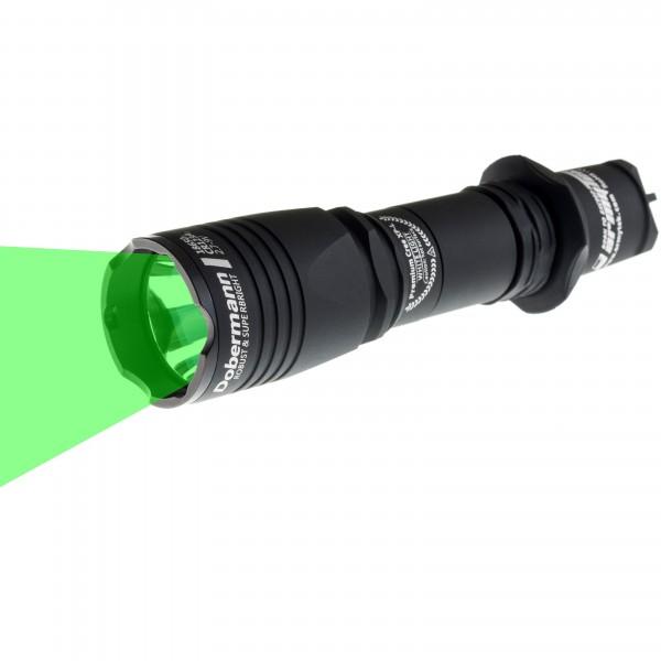 Dobermann 6-mode grün