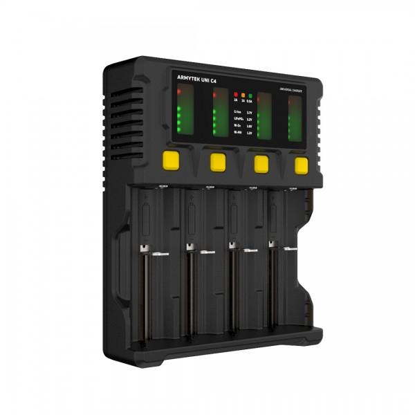 Uni C4 - 4-Schacht-Ladegerät